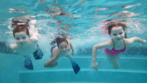 Three Young Swimmers | Good Swim - Swim Lessons for Children